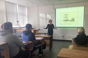 CIT lecturing